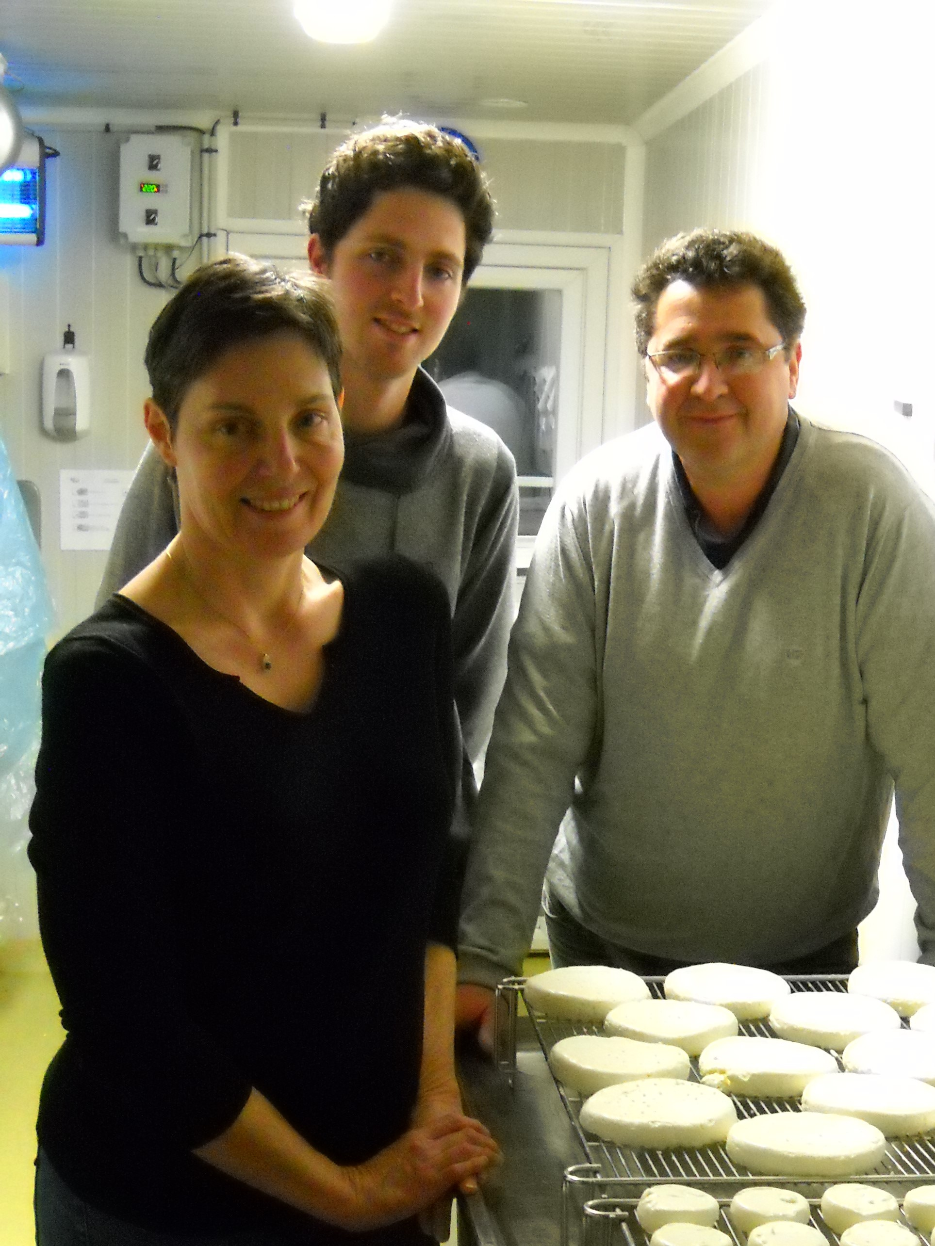 Sylvie, Philippe et Florian